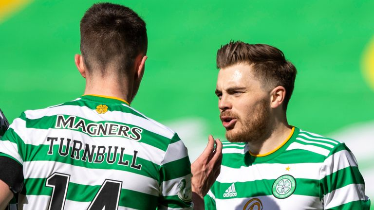 James Forrest (right) and David Turnbull