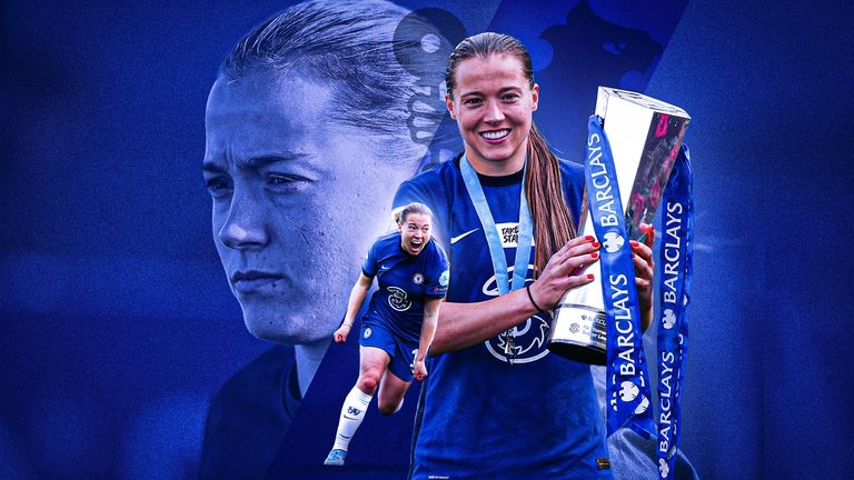 Fran Kirby is the Football Writers' Association Women's Footballer of the Year