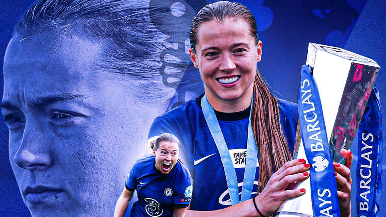 Chelsea forward Fran Kirby has been named the Football Writers' Association women's player of the year