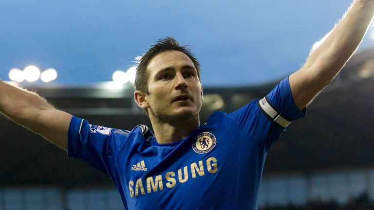 Frank Lampard has been inducted into the Premier League Hall of Fame