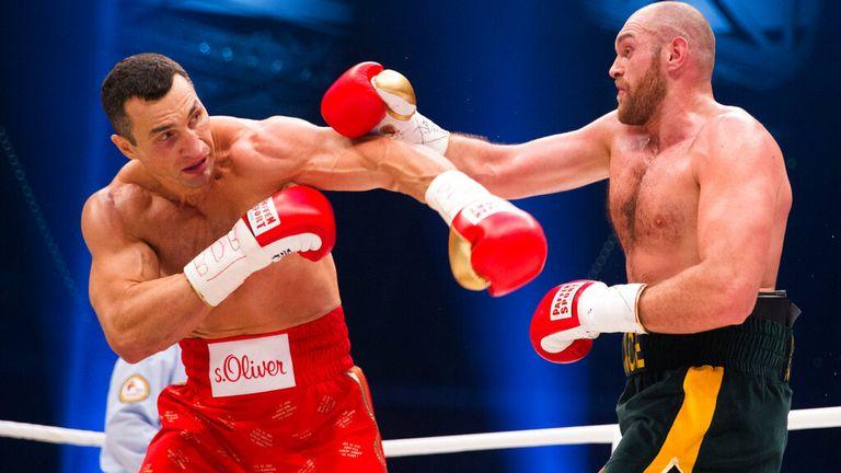 Fury ended Klitschko's heavyweight title reign