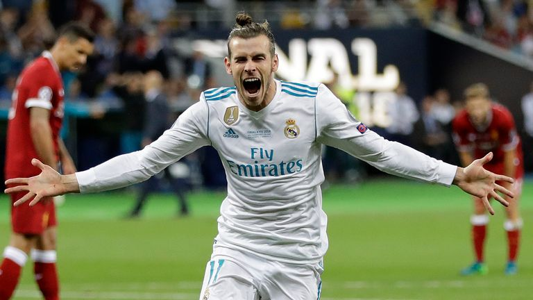 Gareth Bale has won 13 major honours with Real Madrid since he joined the club in 2013, including four Champions Leagues