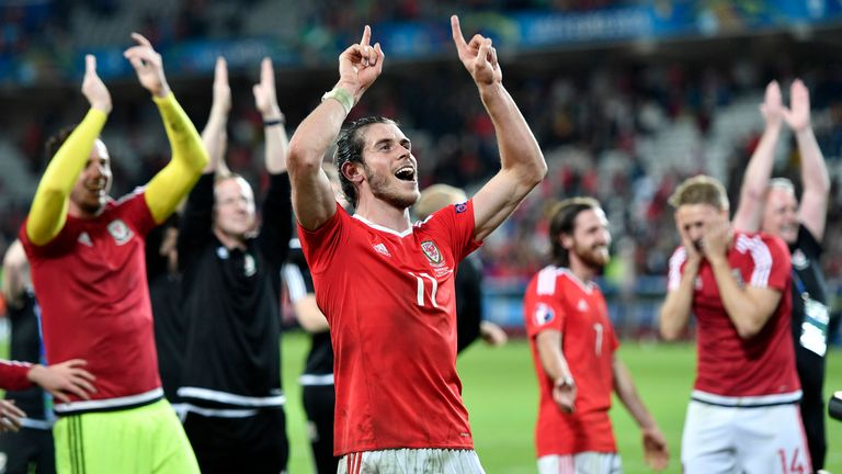 Bale, who holds 90 caps for his country, helped Wales to the semi-finals at Euro 2016