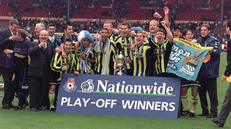 Manchester City have come a long way since 1999
