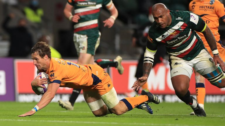Goosen's critical try followed a scintillating move of attacking rugby