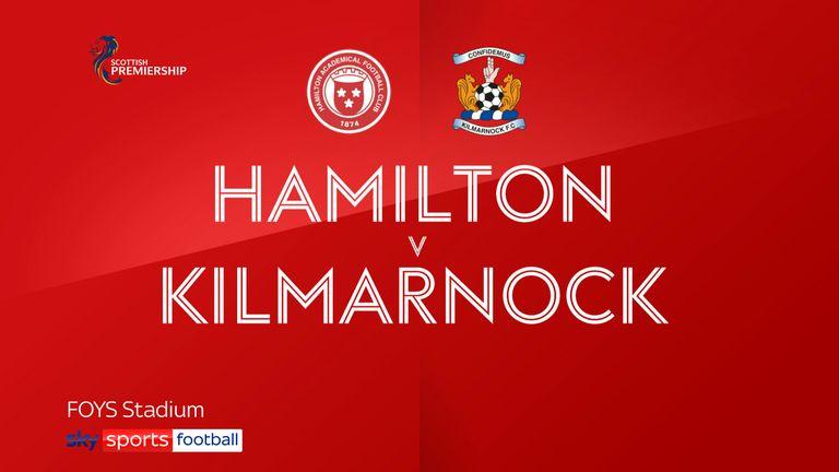 Hamilton v Kilmarnock badge