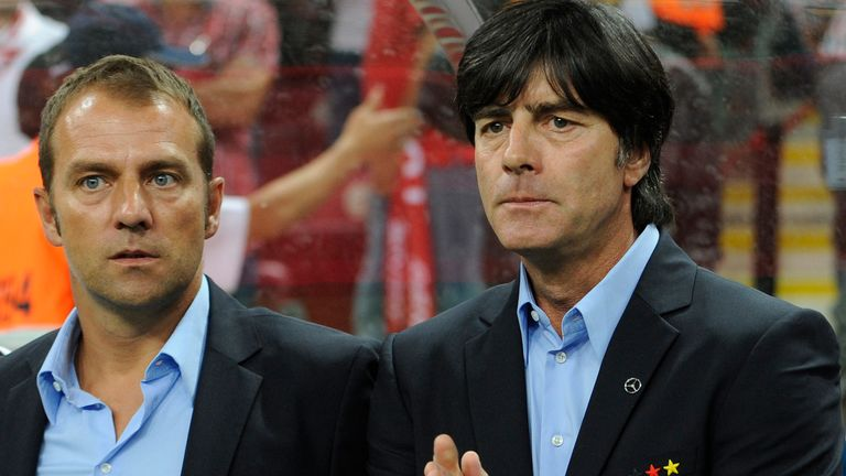 Joachim Low and Hansi Flick won the World Cup together back in 2014