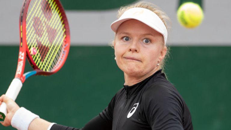 Harriet Dart a échoué dans une tentative de se qualifier pour le tableau principal de Roland-Garros