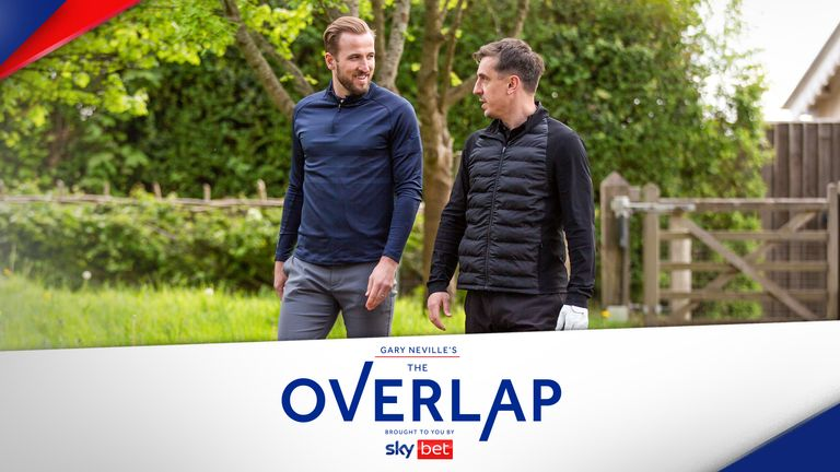 Harry Kane was speaking with Gary Neville on the latest episode of The Overlap.