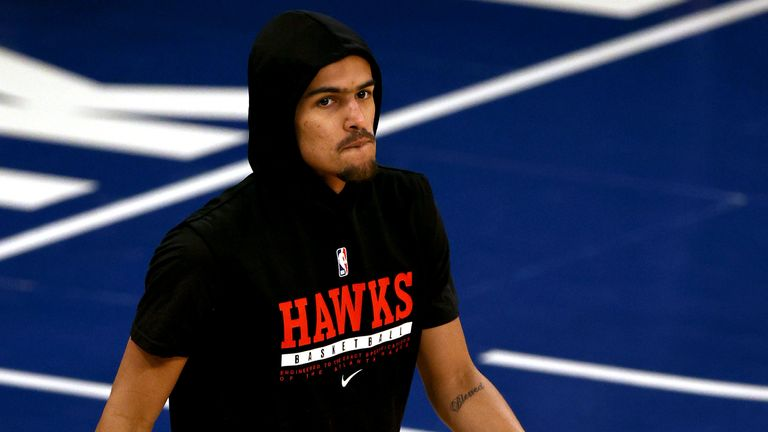 Atlanta Hawks & # 39;  The first round of the NBA basketball playoff series against the New York Knicks is tough for Tri-Game 2