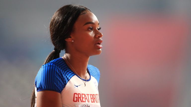 Sky Scholar and sprinter Imani-Lara Lansiquot reflects on the last year after writing an article almost 12 months ago saying she wanted to turn 'frustration into positive action' after the murder of George Floyd