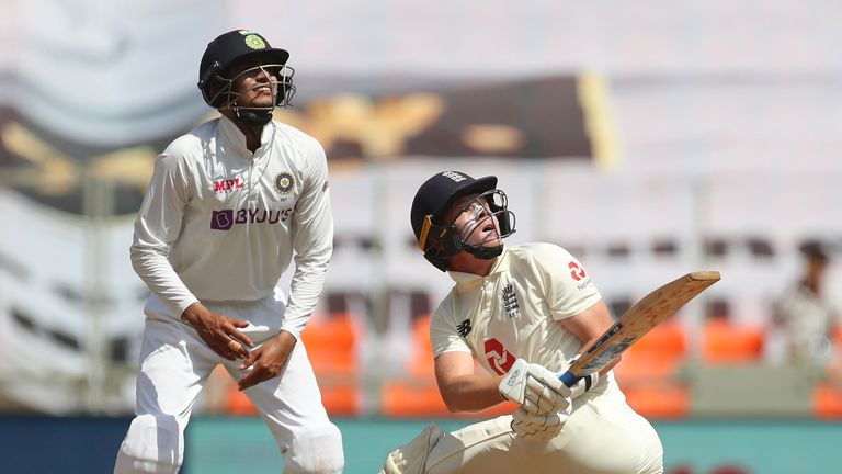 England lost 3-1 in a four-match Test series in India earlier this year