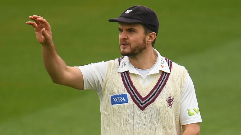 Somerset's Jack Brooks is the first player to be used as a Covid substitute in county cricket