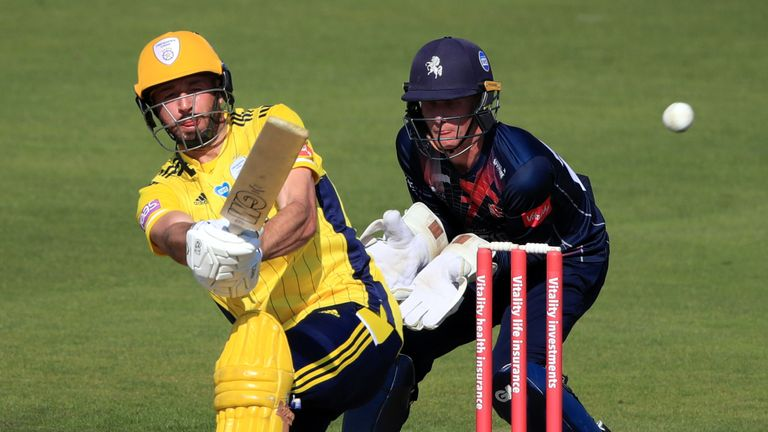 Hampshire's hopes could rest with their captain James Vince, who is targeting a limited-overs double at Edgbaston