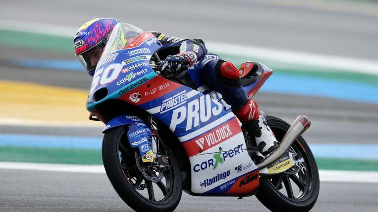 Jason Dupasquier è stato coinvolto in una collisione in Moto3 sabato