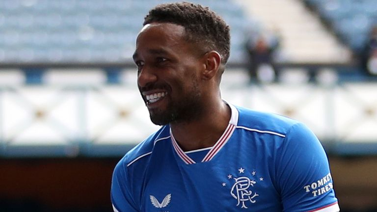Jermain Defoe has made 18 appearances for Rangers this season with 11 of those coming in the Scottish Premiership
