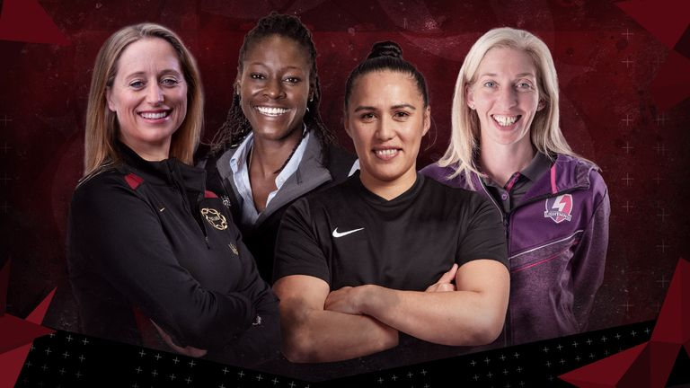 Jess Thirlby has added considerable experience to her coaching team ahead of the 2022 Commonwealth Games and 2023 Netball World Cup