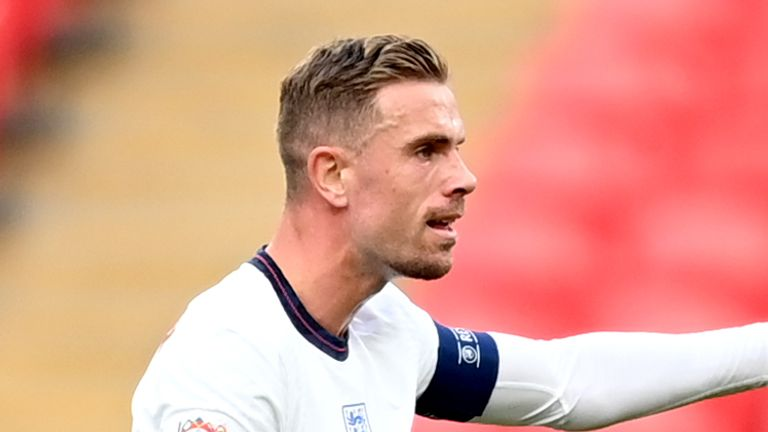Gareth Southgate is looking to include Jordan Henderson in his squad for Euro 2020