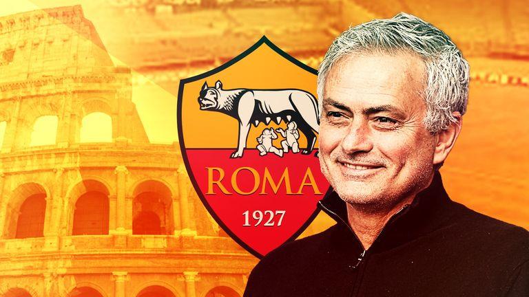 Jose Mourinho will join Roma next season