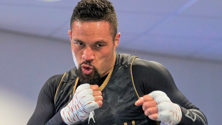 Joseph Parker  Anthony Joshua is sparring Australia's world-rated heavyweight Demsey McKean ahead of Oleksandr Usyk fight Anthony Joshua is sparring Australia's world-rated heavyweight Demsey McKean ahead of Oleksandr Usyk fight skysports joseph parker boxing 5377036