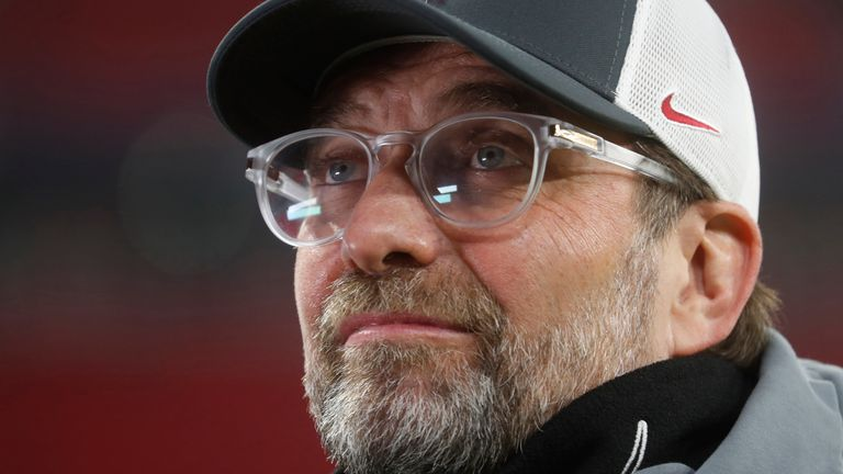 Liverpool boss Jurgen Klopp has urged fan protests to remain peaceful after events at Old Trafford last weekend