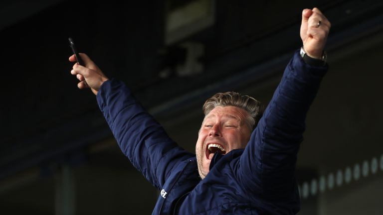 Karl Robinson's men secured a League One play-off place on the final day of the season