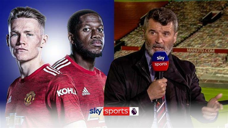 Roy Keane on Man Utd midfield