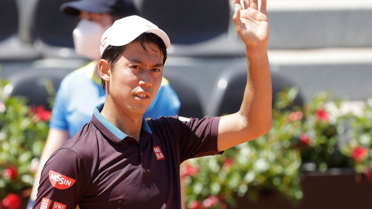 Kei Nishikori has expressed concerns about staging the Olympic Games in Tokyo this summer