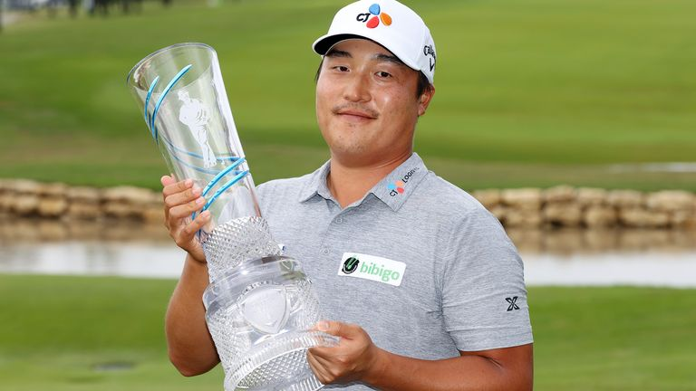 KH Lee wins Byron Nelson for first PGA Tour victory