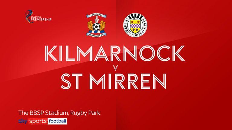 Kilmarnock v St Mirren badge