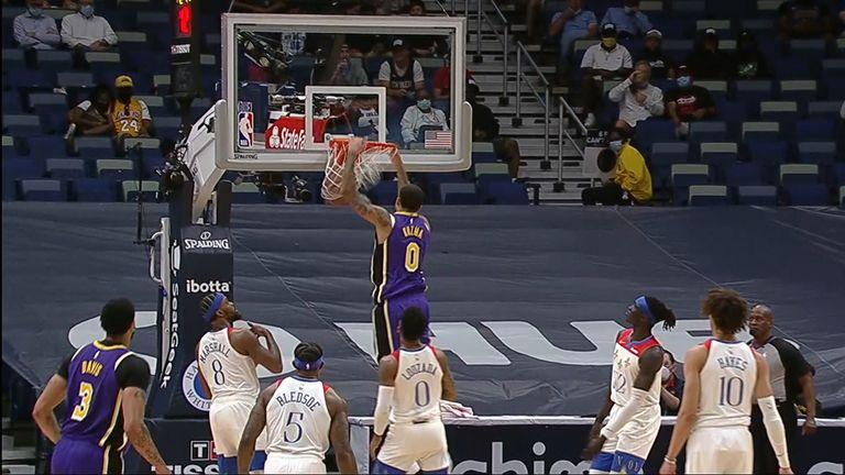 Kyle Kuzma dunk
