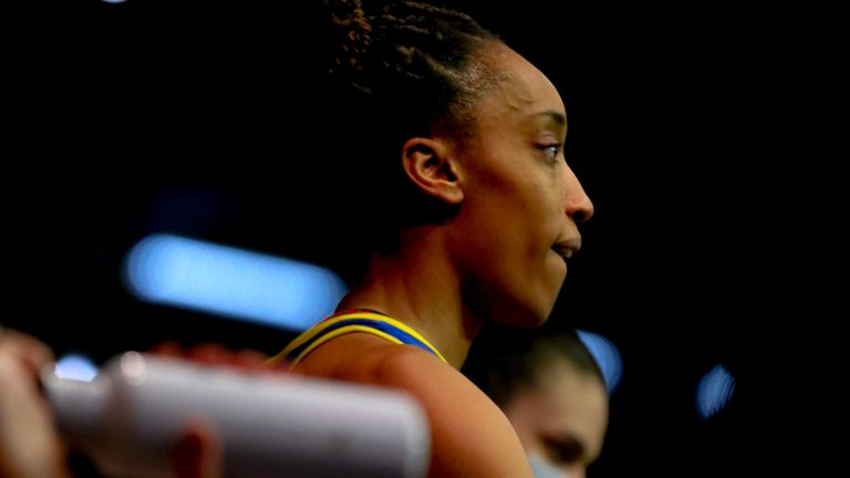Layla Guscoth will be back in blue and gold for the 2022 season  (Image credit: Ben Lumley)
