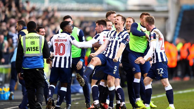 Millwall defeated the Foxes