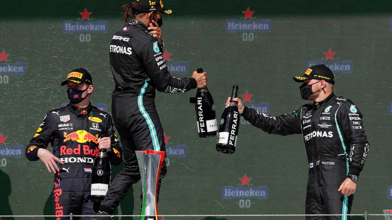 Lewis Hamilton reels in F1 fight after 'impressive' Portuguese GP win over mistakes