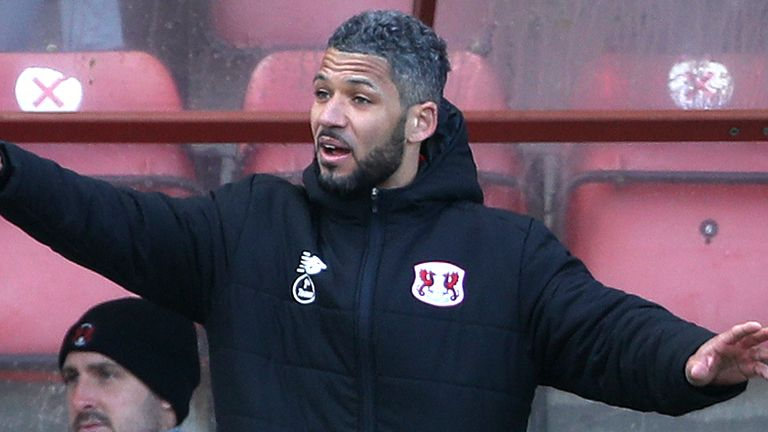 Jobi McAnuff had been in temporary charge of Leyton Orient's final 16  games of the season