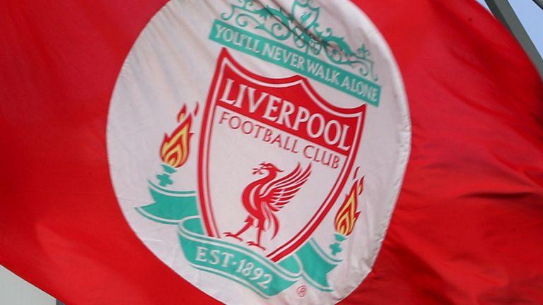 Liverpool flag (PA)