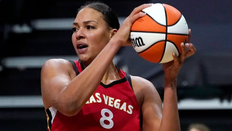 Las Vegas Aces centre Liz Cambage has withdrawn from the Tokyo Olympics