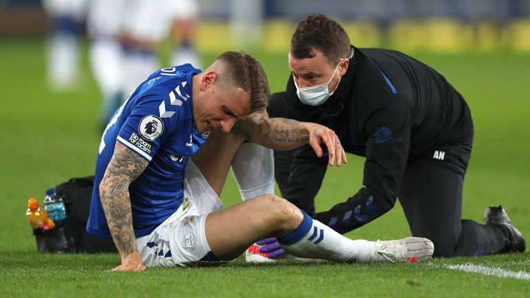 Digne missed nearly two months of the season through an ankle injury