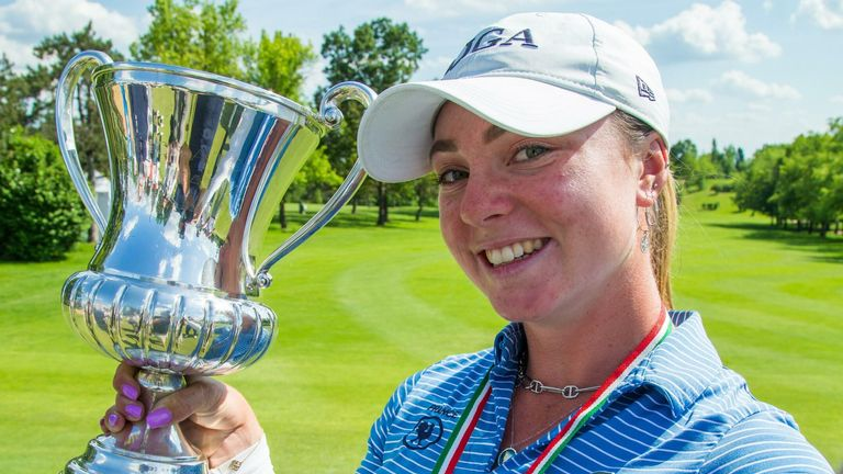 French amateur Lucie Malchirand won the Ladies Italian Open