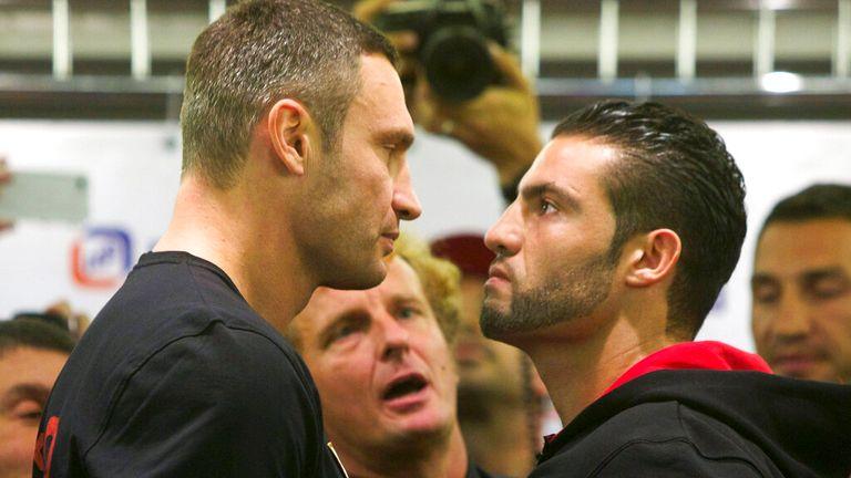 Charr lost his unbeaten record to Vitali Klitschko