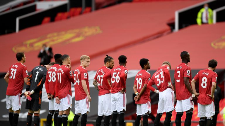 Manchester United made ten changes for their defeat to Leicester