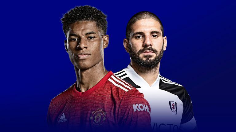Man Utd versus Fulham