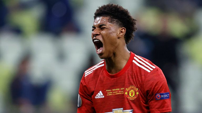 Marcus Rashford has vowed to come back stronger