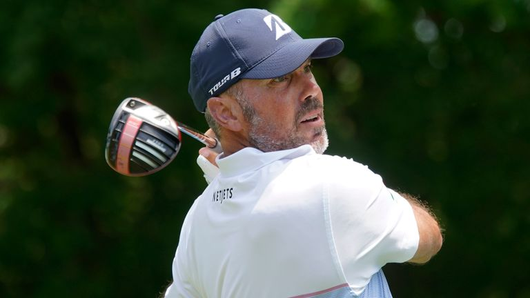 Matt Kuchar's only bogey of the day came at the 15th