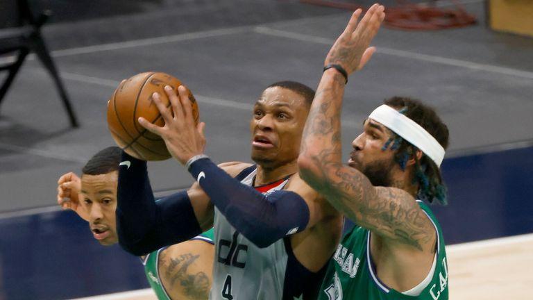 NBA Wk19: Mavericks 125-124 Wizards