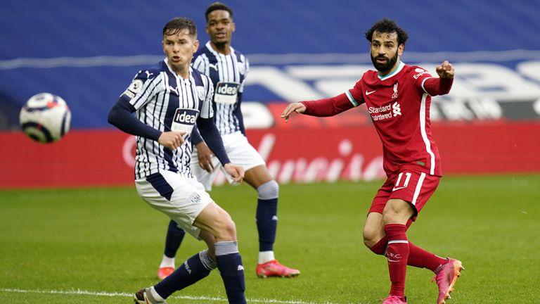 Mohamed Salah de Liverpool égalise