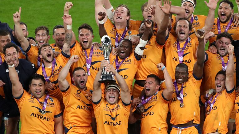 Montpellier became Challenge Cup title winners for the second time in six years on Friday after a tight win over Leicester