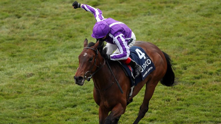 Mother Earth ridden by jockey Frankie Dettori wins the Qipco 1000 Guineas