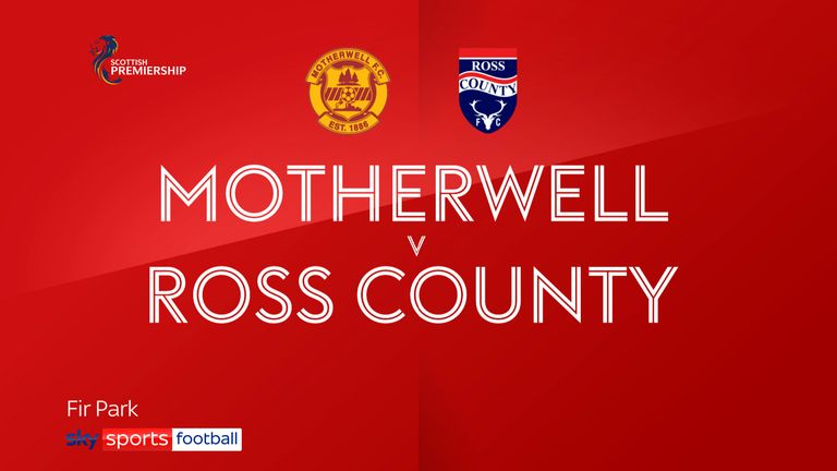 Motherwell v Ross County badge