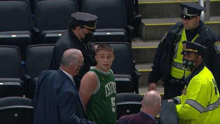 Celtics Fan arrested